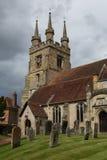 Penshurst miejsce, kościół obraz royalty free