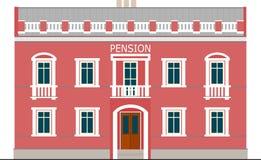 Pensión Imagen de archivo