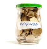 Pensión Foto de archivo libre de regalías