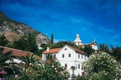 Pensión, anj del  de PrÄ, Montenegro imagen de archivo
