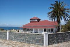 Pensión de la isla de Robben, previamente el ` británico s de la comisión Foto de archivo libre de regalías