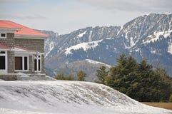 Pensión en la montaña Fotografía de archivo