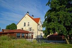 Pensión en la región de Kaliningrado, Rusia imagenes de archivo
