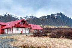 Pensión, Islandia Imágenes de archivo libres de regalías