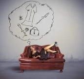 Pensi ad acquisto Fotografie Stock Libere da Diritti