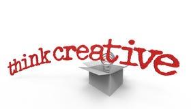 Pensi creativo III illustrazione vettoriale