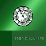 Pensi il verde! fotografia stock libera da diritti