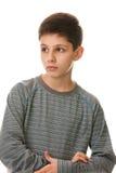 Pensieri dell'adolescente immagini stock libere da diritti