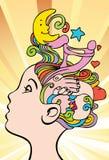 Pensieri di amore royalty illustrazione gratis