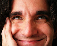 Pensieri felici Fotografia Stock Libera da Diritti