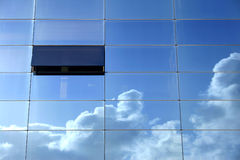 Pensiero del cielo blu Fotografie Stock