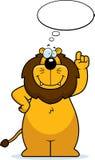 Pensiero del leone illustrazione di stock