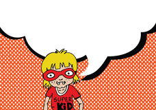 Pensiero e la gente della gente che parlano con i fumetti di dialogo Immagini Stock Libere da Diritti