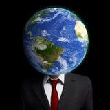 Pensiero globalmente Fotografia Stock Libera da Diritti