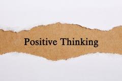 Pensiero positivo Fotografia Stock