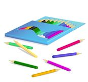 Pensil box Royalty Free Stock Photo
