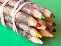 Pensil oxidado da cor Fotos de Stock Royalty Free