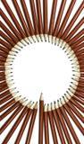 Pensiles rojos Fotografía de archivo libre de regalías