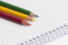 Pensils Royalty Free Stock Photos