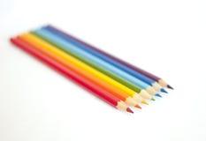 Pensils del Rainbow Fotografia Stock Libera da Diritti