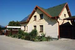 Pensioen in Tokaj-vallei Royalty-vrije Stock Foto's