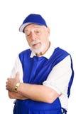 Pensionär återförsäljnings- Greeter Arkivbild
