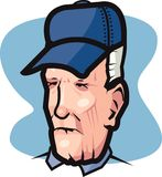 pensionär vektor illustrationer
