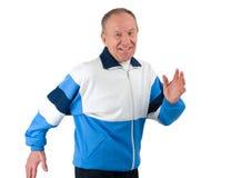 pensionär för 3 löpare Arkivbilder
