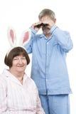 pensionär för 9 par royaltyfri fotografi