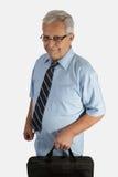 pensionär för affärsman Arkivbilder