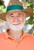 pensionär för erfarenhetsframsidastående Royaltyfria Bilder