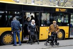 PENSIONÄR SERVICEBUS RODVOVER 848 Arkivfoto