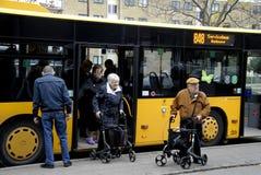 PENSIONÄR SERVICEBUS RODVOVER 848 Royaltyfri Foto