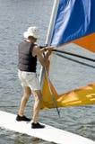 pensionär surfer3 royaltyfri fotografi