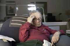 Pensionär under spänningen f7fk5373 Fotografering för Bildbyråer