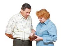 Pensionäre Stockfoto