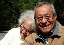 pensionärer Royaltyfria Bilder