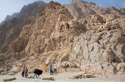 Pensionärer som in talar, parkerar nära den historiska Hasht Behesht slotten i Mellanösten Royaltyfri Bild