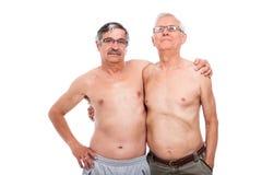 Pensionärförhållande Arkivfoto