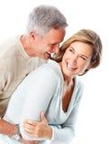 Pensionärpar Royaltyfria Bilder