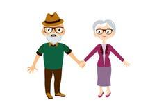 Pensionärvektorbild Royaltyfria Foton