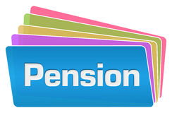 Pension Colorful Squares Stack Stock Photos