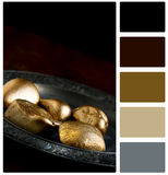 Pension Concept with Swatch Palette Royalty Free Stock Photography