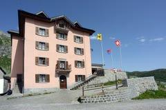 Pension de Gotthard, Tessin, Suisse Images libres de droits
