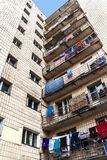Pension de maison de rapport à Kiev, Ukraine Photo colorée sécher photographie stock