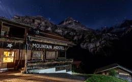 Pension de montagne Image stock