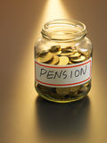 Pension fund Royalty Free Stock Photos