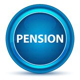 Pension Eyeball Blue Round Button royalty free illustration