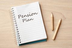 Pension plan Stock Images