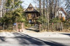 Pension Zameczek in villa Dora Royalty Free Stock Photos
